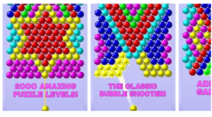 feature of bubble shooter for pc