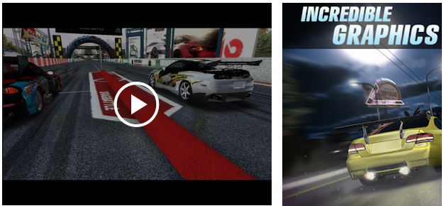 Features of Drag Battle Racing for PC