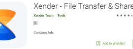 Xender App for PC