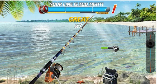 feature of fishing flash 2018 for pc