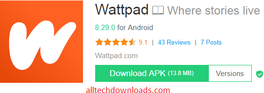 Download Wattpad APK For Android