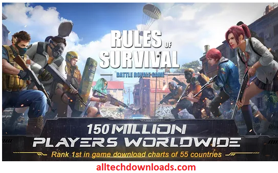 Features Of Rules Of Survival For PC