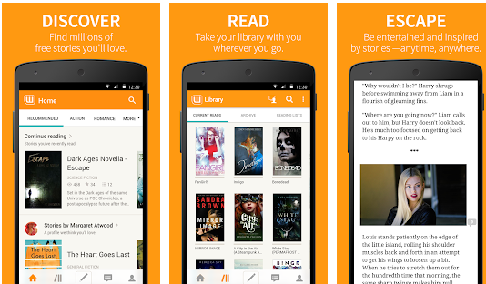 Features of Wattpad For PC