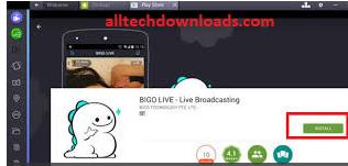Install BIGO LIVE For PC