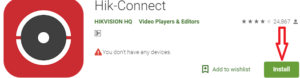 Install Hik- Connect For PC
