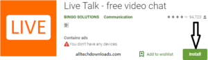 Install Live Talk For PC