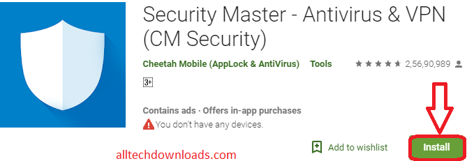 Install CM Security For PC