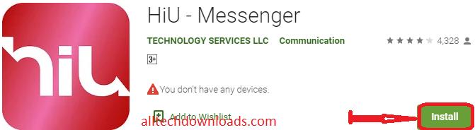 Install Hiu- Messenger For PC
