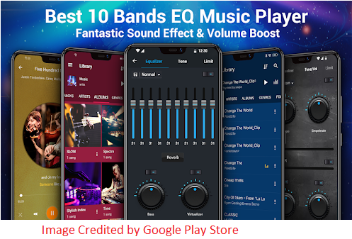 features of Music Player For PC