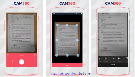 features of cam360 for pc
