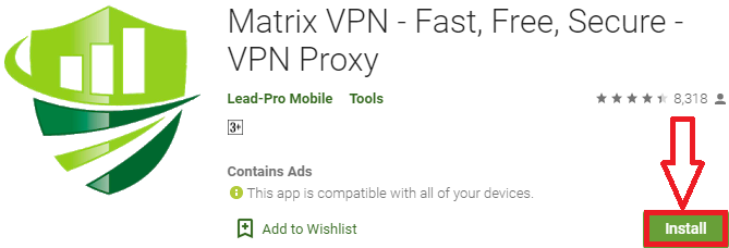 install matrix vpn for pc