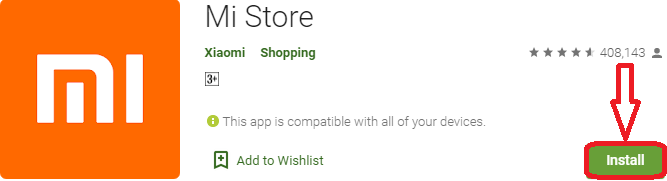 install mi store for pc