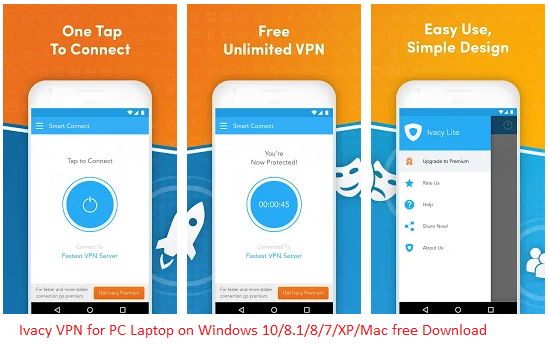 feature of ivacy vpn for pc