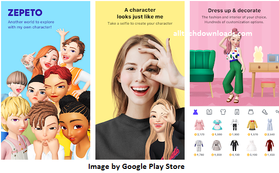 features of zepeto on pc