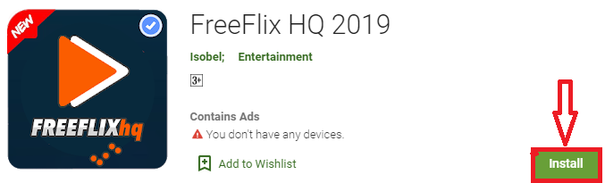 install freeflix hq for pc