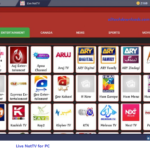 features of live nettv for pc