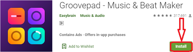 install groovepad for pc