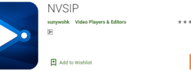install nvsip for pc