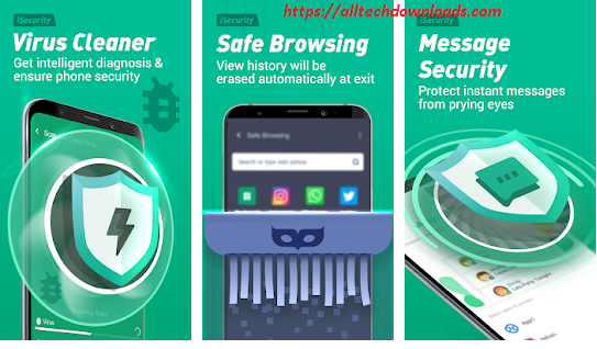 features of isecurity antivirus for pc
