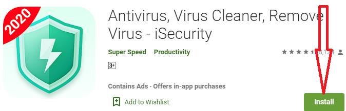 install isecurity antivirus for pc