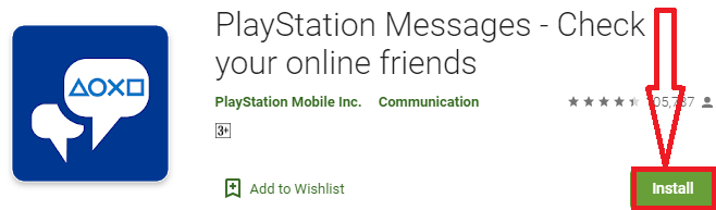 install playstation messenger for pc