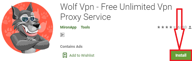 install wolf vpn for pc