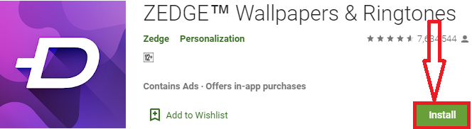 install zedge for pc