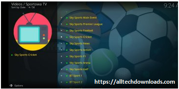 sportowa tv for pc