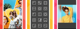 features of photo grid for pc
