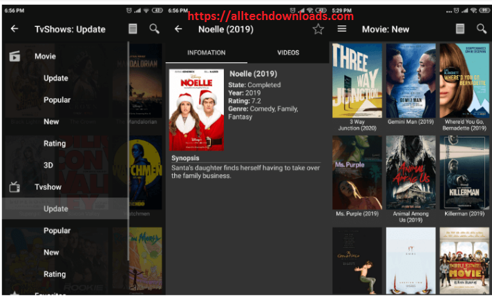 features of movie hd for pc