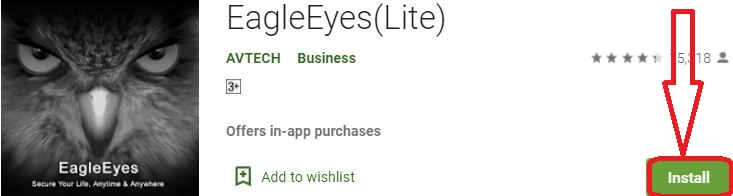 install eagleeyes for pc