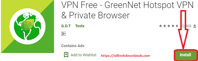 install greennet vpn for pc