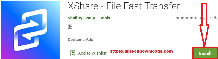 install xshare for pc