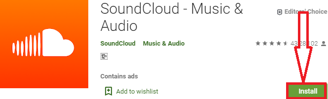 install soundcloud for p