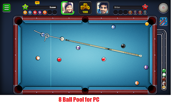 feature of 8 ball pool for pc