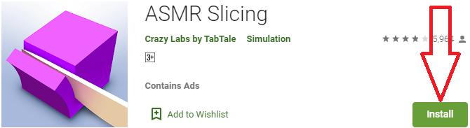 install asmr slicing for pc