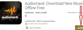 install audiomack for pc