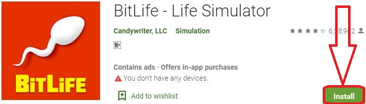 install bitlife for pc