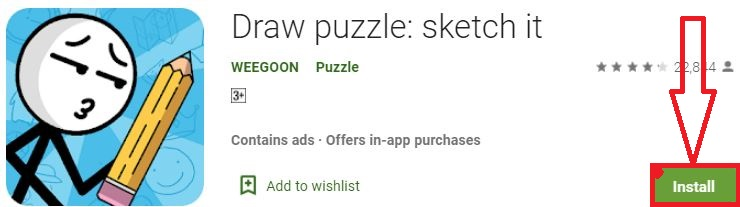 install draw puzzle for pc