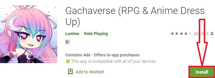 install gachaverse for pc