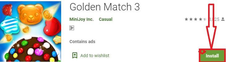install golden match 3 for pc