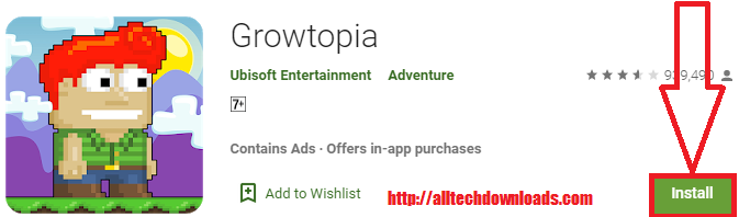 install growtopia for pc