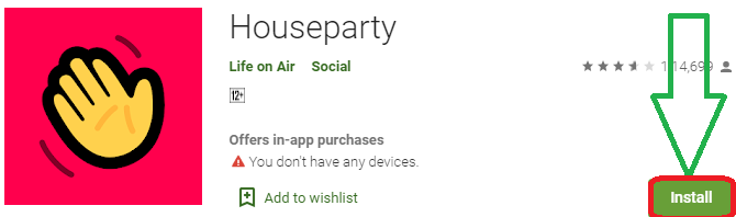 install houseparty for pc
