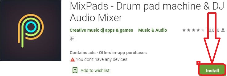 install mixpads for pc