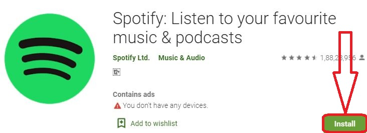 install spotify for pc
