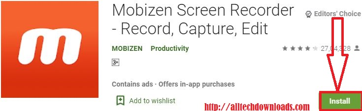 install mobizen for pc