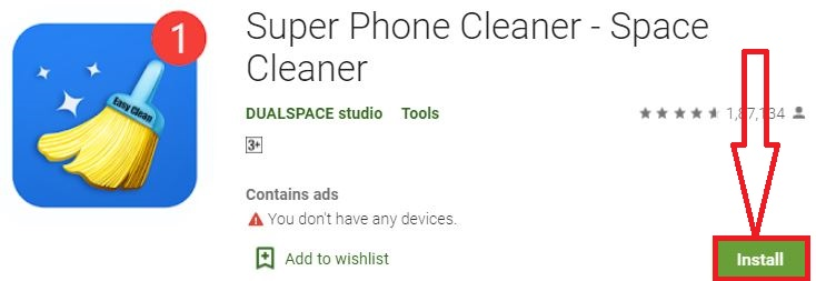 install super phone cleaner for pc