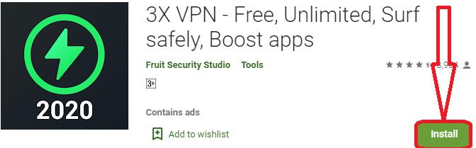 install 3x vpn pc