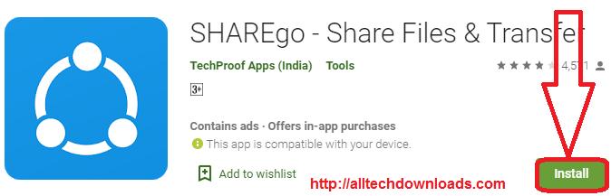 install SHAREgo for pc