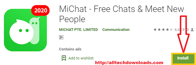 install michat for pc